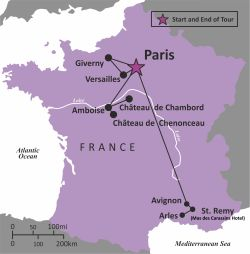 FRANCE - Paris and Provence