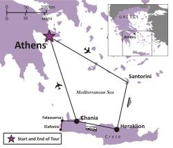 GREECE - Athens and the Greek Isles