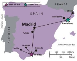 SPAIN - Andalucia, Madrid and Barcelona