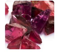 stones: pink tourmaline