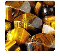 stones: tigereye