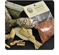 herbs: for burning