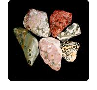 stones: ocean jasper