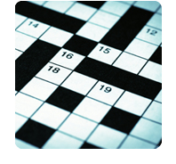 stones: crossword