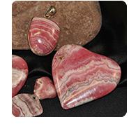 stones: rhodocrosite