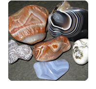 stones: agate