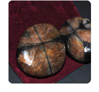 stones: chiastolite
