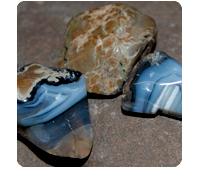 stones: thunder eggs