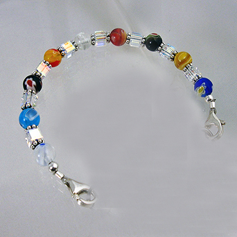 confetti medical bracelet