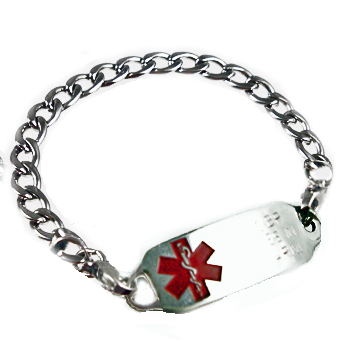 Curb Bracelet Medical Jewelry