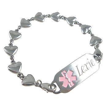 Stainless Forever Hearts Bracelet