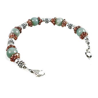 Copper Patina Medical Bracelet Jewelry