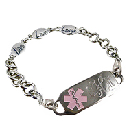 Item Dpm01 Deluxe Pionate Messages Medical Id Bracelet