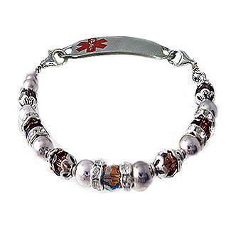 Silver Treasures Medical Bracelet