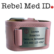 Embossed Medical Band