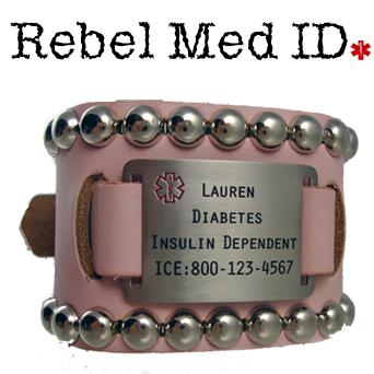 Edge Leather Medical Band