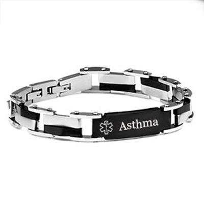 ASTHMA Medical Bracelet