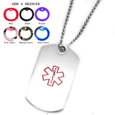 Medical Alert Dog Tags