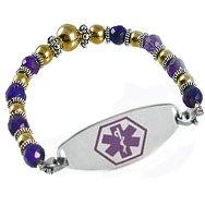 Crystal Medical ID Bracelets