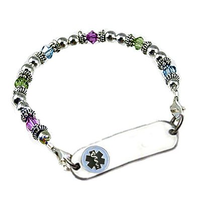 Birthstone Medical Bracelets