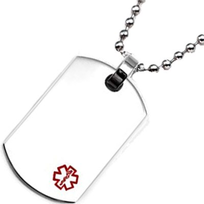 Surgical Stainless Dog Tag ID