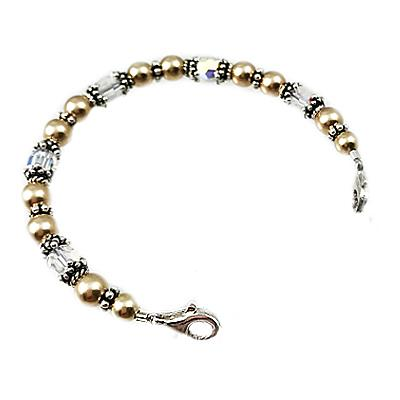 Cherished Love Two-Tone Medical ID Bracelets