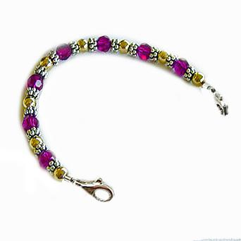 Cherries Jubilee Medical ID Bracelets