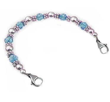 Birthstone Medical ID Bracelets
