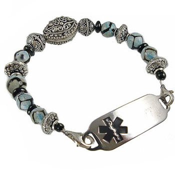 Boho Chic Medical Bracelet Jewelry
