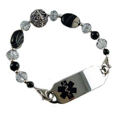 Karma Medical Beaded ID Bracelets
