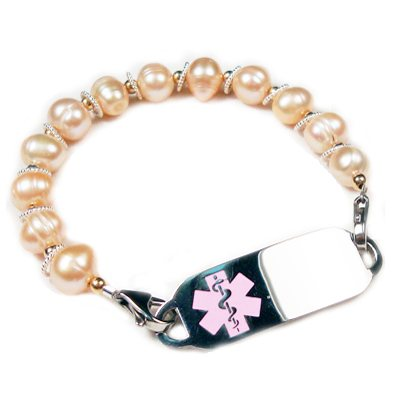 Pearl Medical Bracelet Jewelry