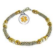 Classic Elegance Medical Charm Bracelets
