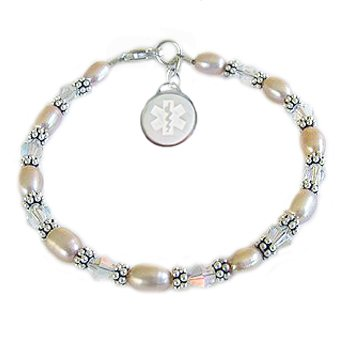 Pearls of Clarity Medical Charm Bracelets