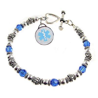 Birthday Wishes Medical Charm Bracelets