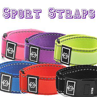 Six sport strap colors Medical ID