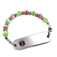 Kiwi Lemonade Petite Medical Bracelet