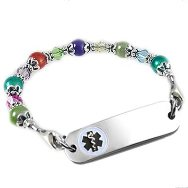Bloomin' Colors Petite Medical Jewelry