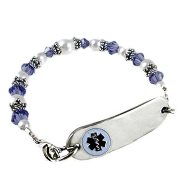 Crystal Petite Bracelet ID
