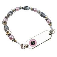 Petite Pink Medical ID Bracelet