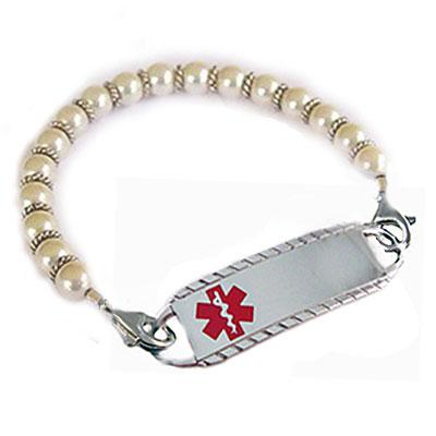 Class Act Pearls Medical ID Jewelry