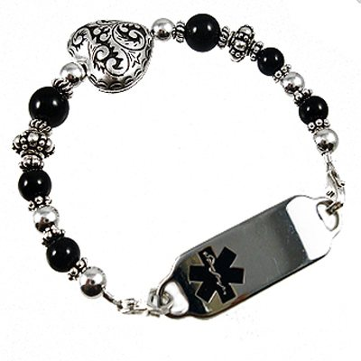 Romancing the Stone Medical Bracelet Jewelry