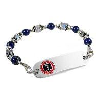 Calming Lapis Petite Medical Bracelet Set