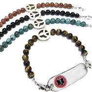 Peace on Earth Medical Bracelet jewelry