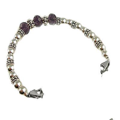 Silver Trio Medical ID Bracelets