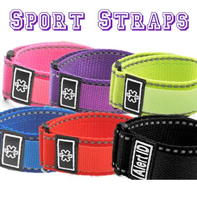Six sport strap colors Medical ID