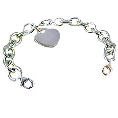 Sterling Silver  Oval Link Strands