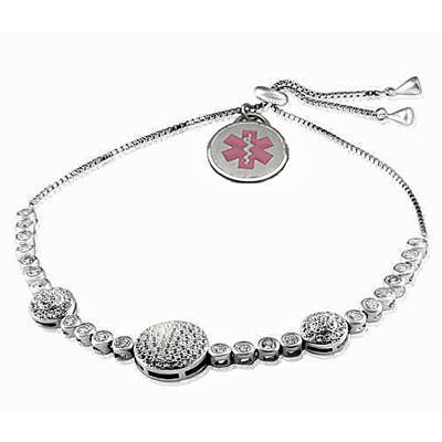 Sterling Medi-Charm Bracelet