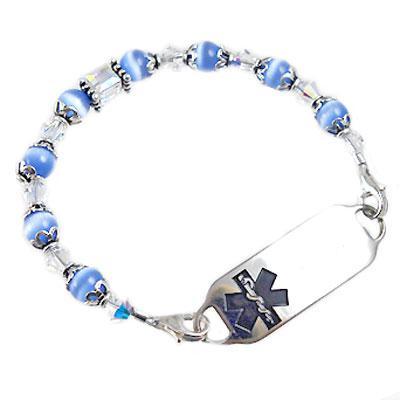 Medical Alert Bracelet >> Creative Medical Id Alert Bracelets And Stylish Jewelry Custom
