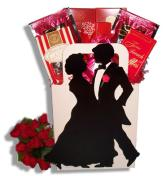 Dancing Couple Gift Basket
