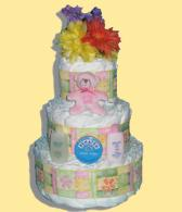 Baby Cake Diaper Cake-Baby Shower Gifts